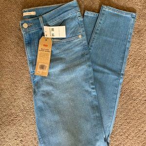 Levi's mile high super skinny jeans size 31